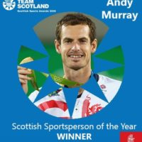 Andy Murray/Photo from Team Scotland Twitter